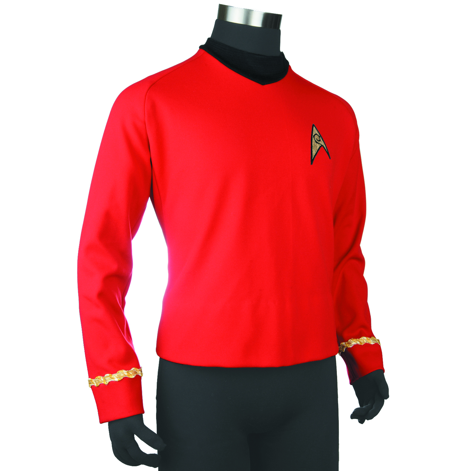 ST TOS RED SHIRT REPLICA TUNIC LG