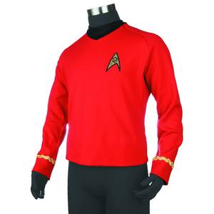 ST TOS RED SHIRT REPLICA TUNIC XL