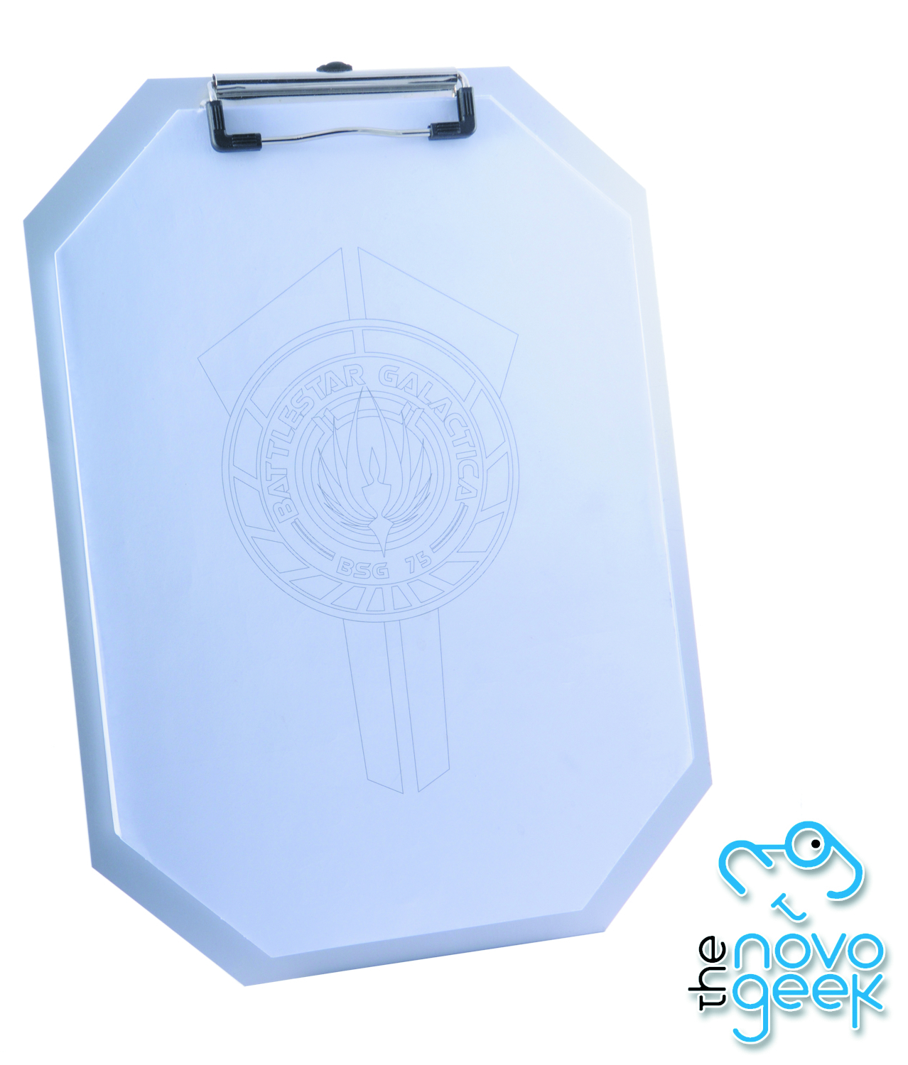 BSG METAL REPLICA CLIPBOARD W/PAPER SET