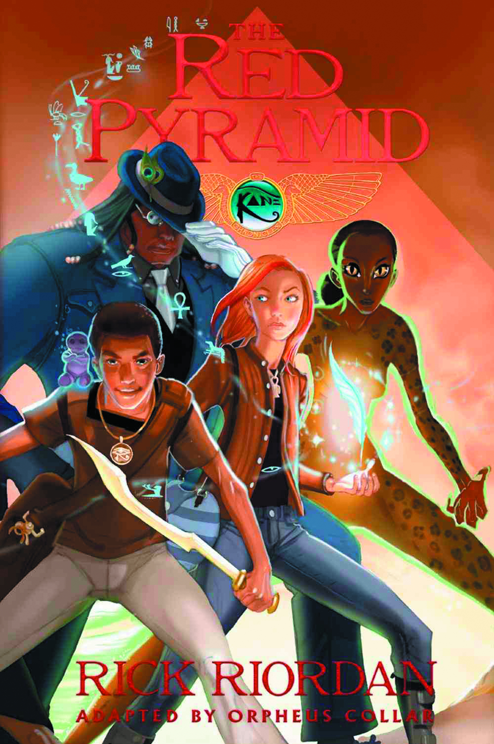 KANE CHRONICLES GN BOOK 01 RED PYRAMID