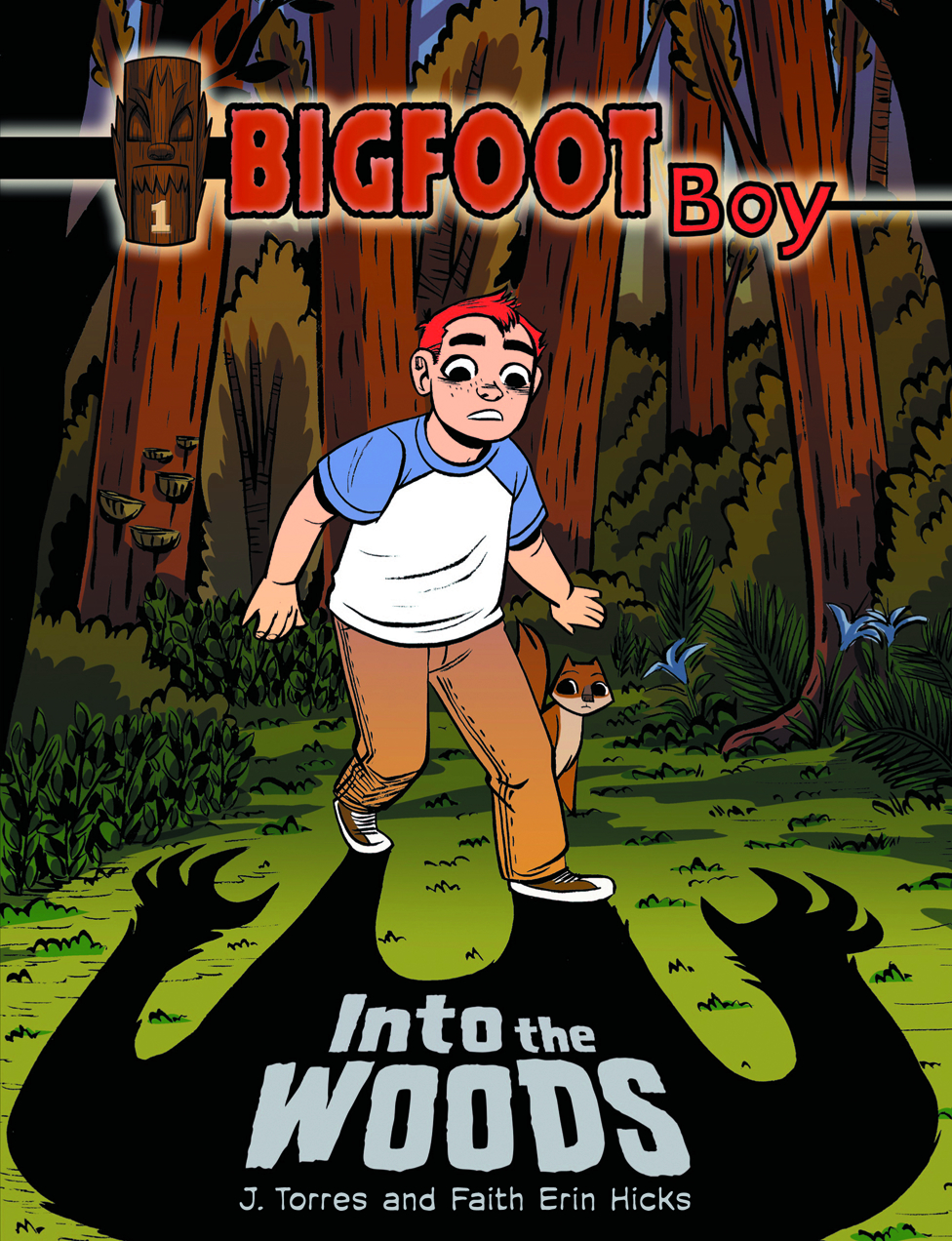 BIGFOOT BOY GN VOL 01 INTO THE WOODS