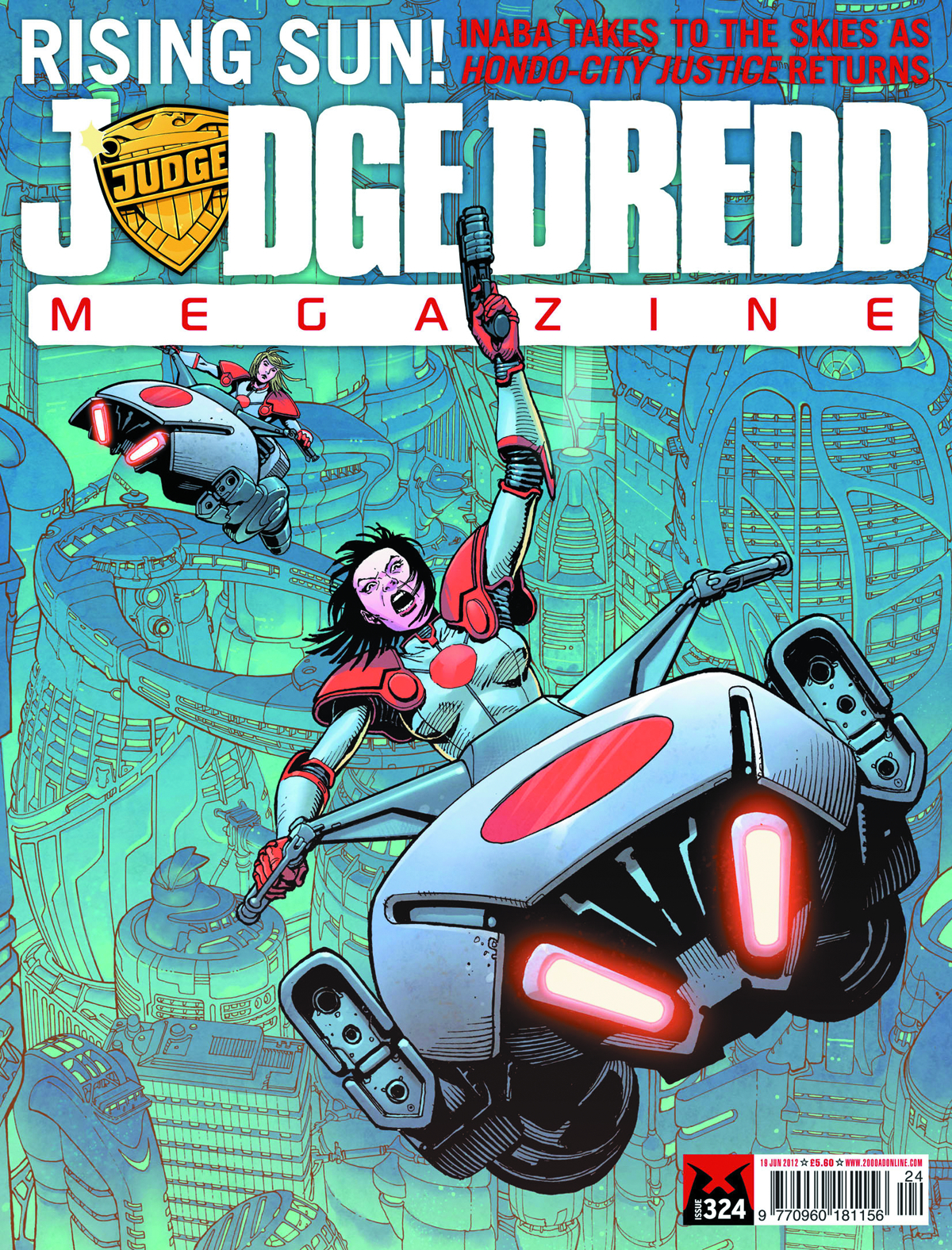 JUDGE DREDD MEGAZINE #328 MOVIE SPEC