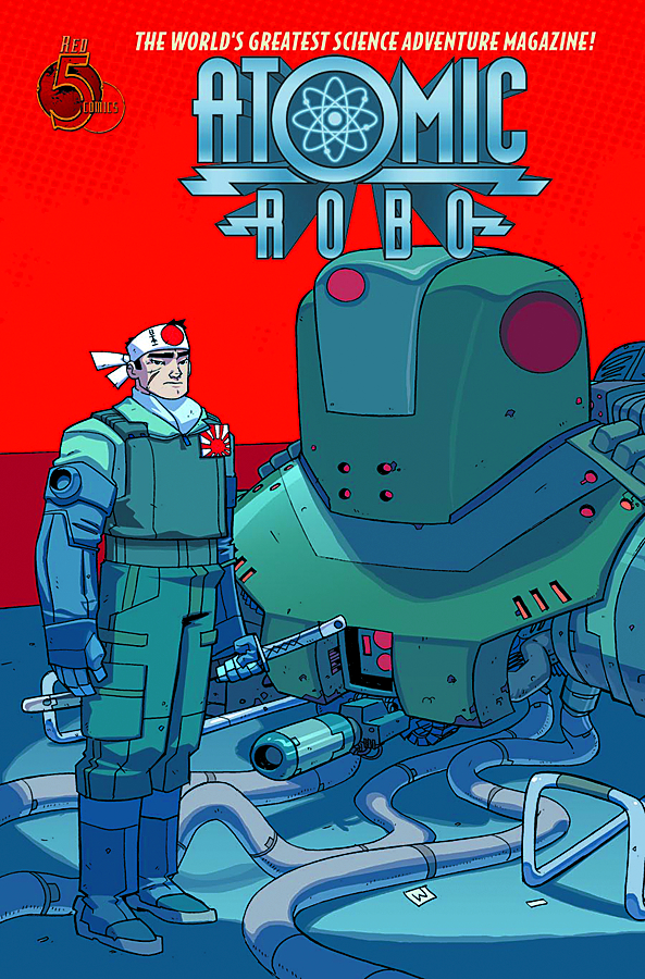 ATOMIC ROBO FLYING SHE DEVILS O/T PACIFIC #4