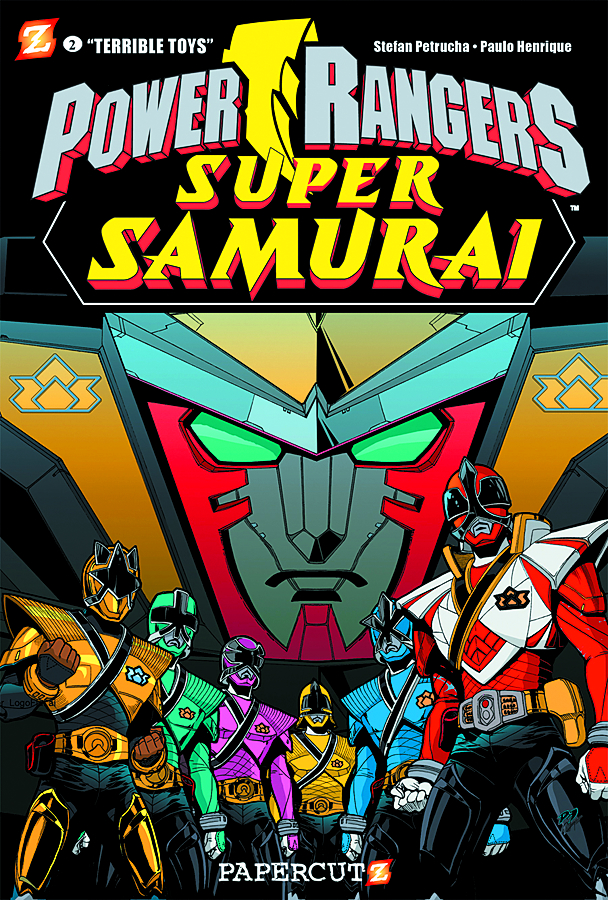 POWER RANGERS SUPER SAMURAI HC VOL 02 TERRIBLE TOYS
