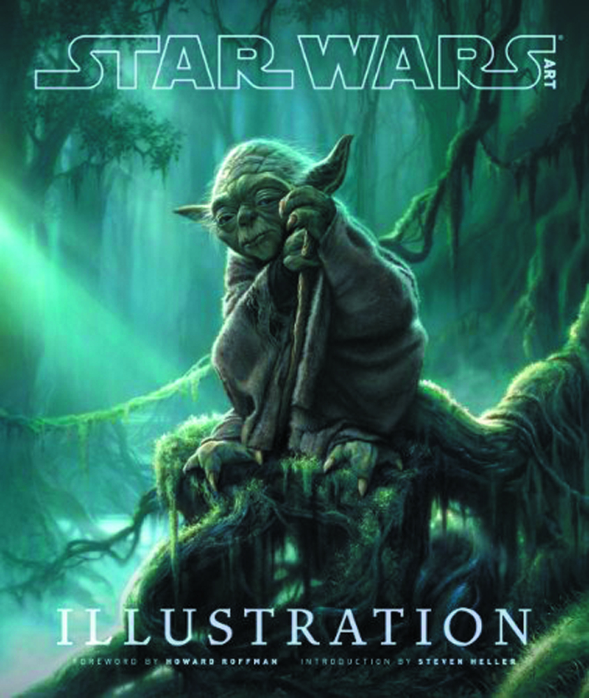 STAR WARS ART ILLUSTRATION LTD ED HC