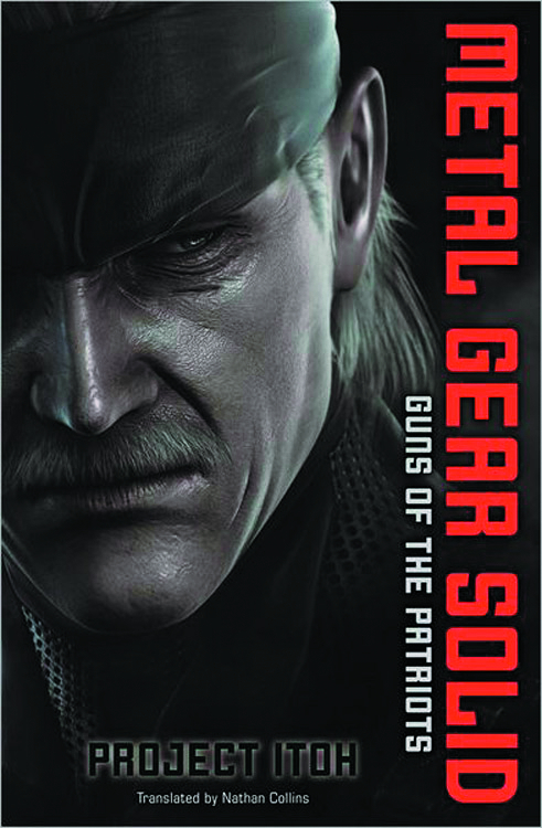 METAL GEAR SOLID GUNS O/T PATRIOTS NOVEL