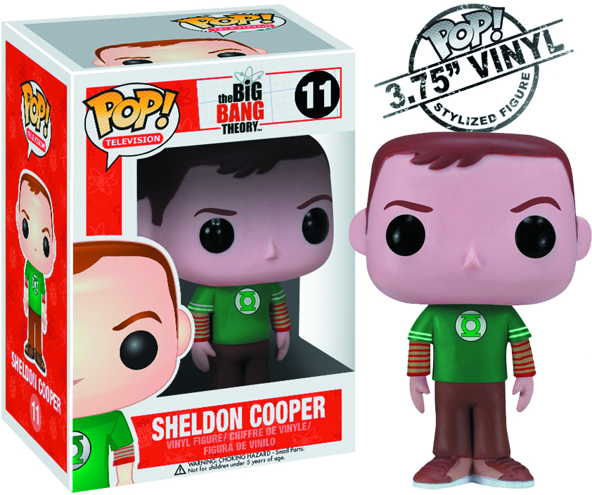 POP BIG BANG THEORY SHELDON VINYL FIG