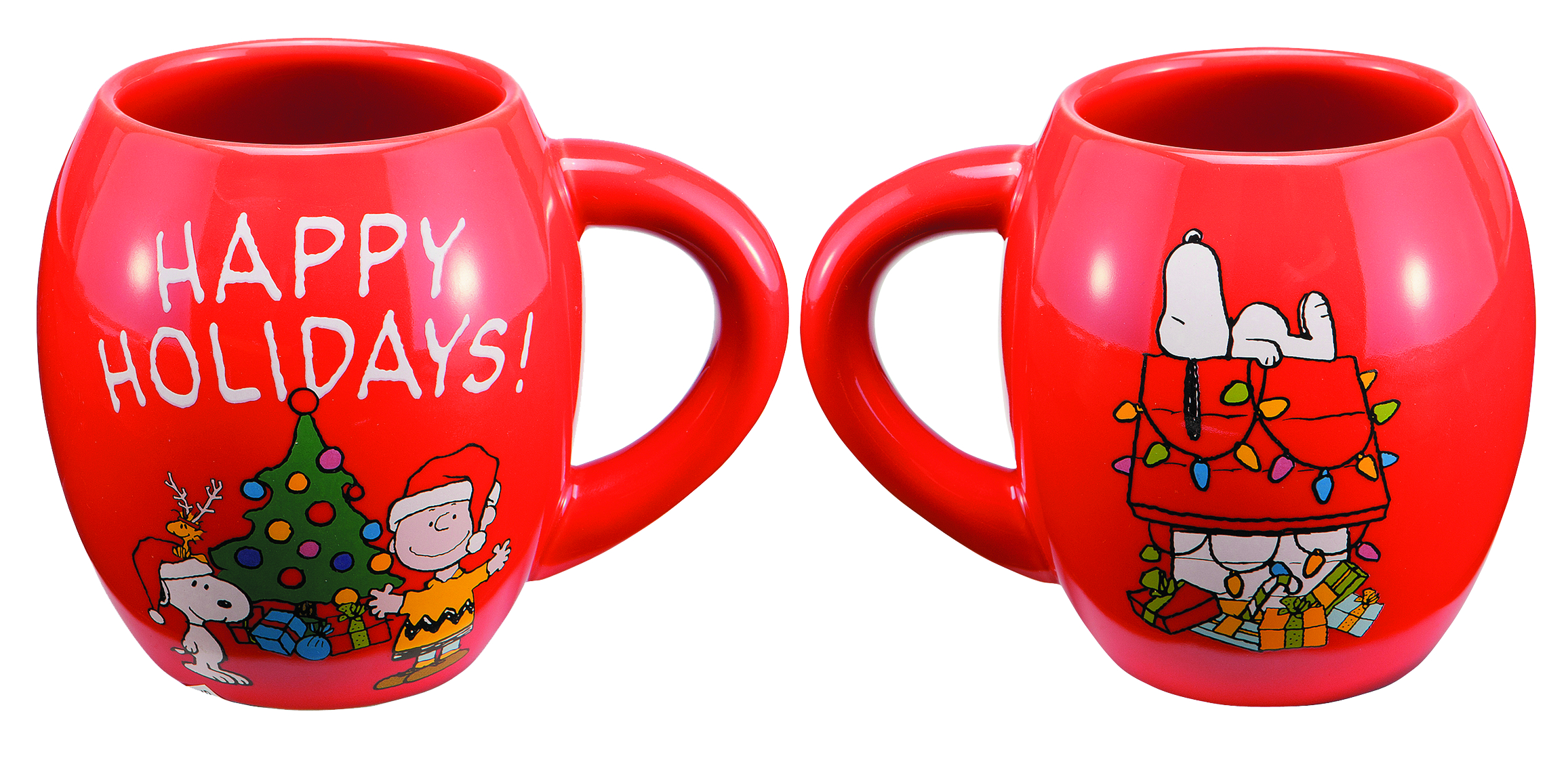 PEANUTS 18OZ CERAMIC OVAL MUG
