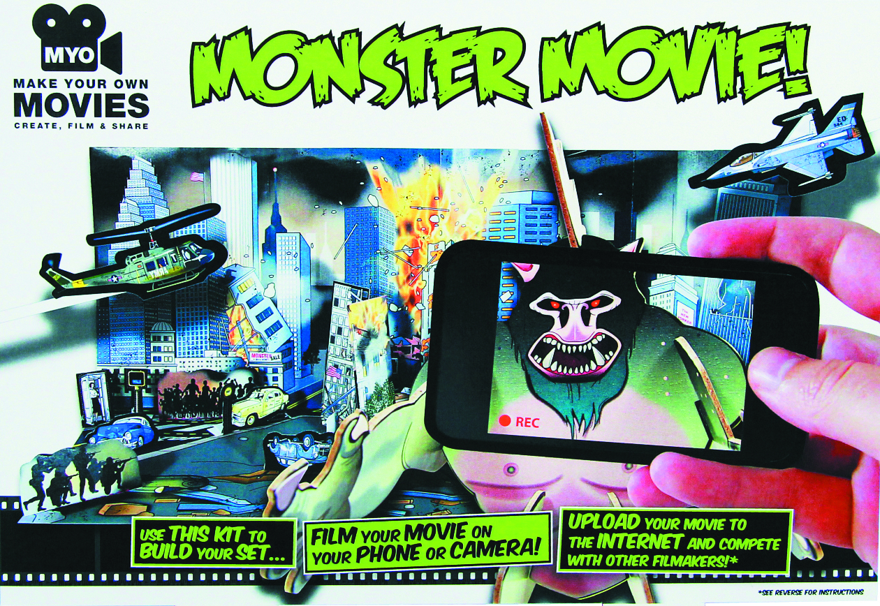 MAKE YOUR OWN MONSTER MOVIE KIT