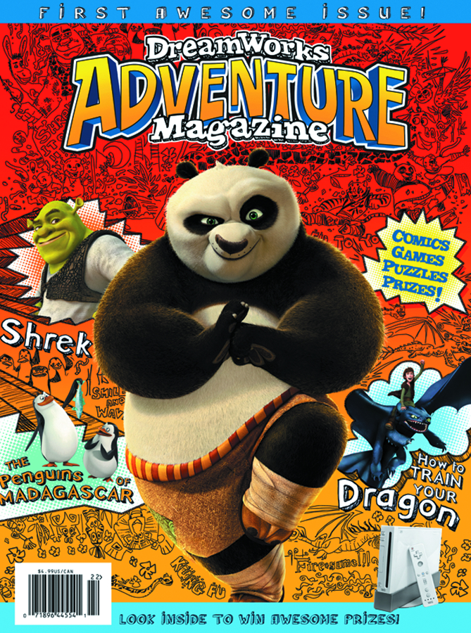 DREAMWORKS ADVENTURE MAGAZINE #1