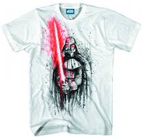 SW DARTH VADER LAST STAND WHITE PX T/S MED
