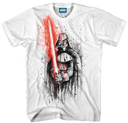 SW DARTH VADER LAST STAND WHITE PX T/S XL