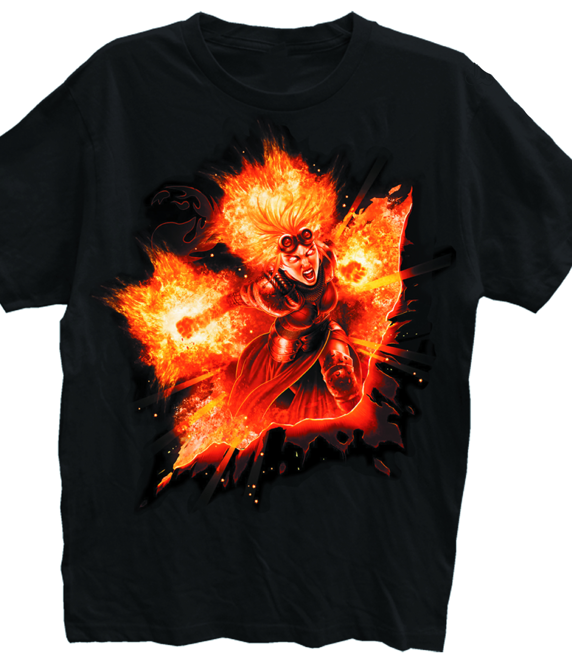 MTG CHANDRA BLK T/S XL