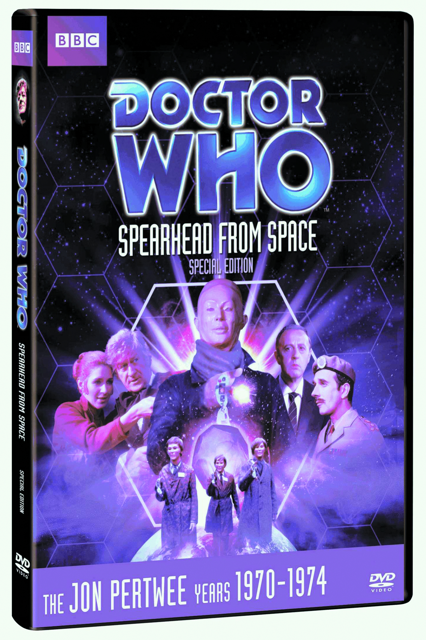 DOCTOR WHO SPEARHEAD FROM SPACE DVD