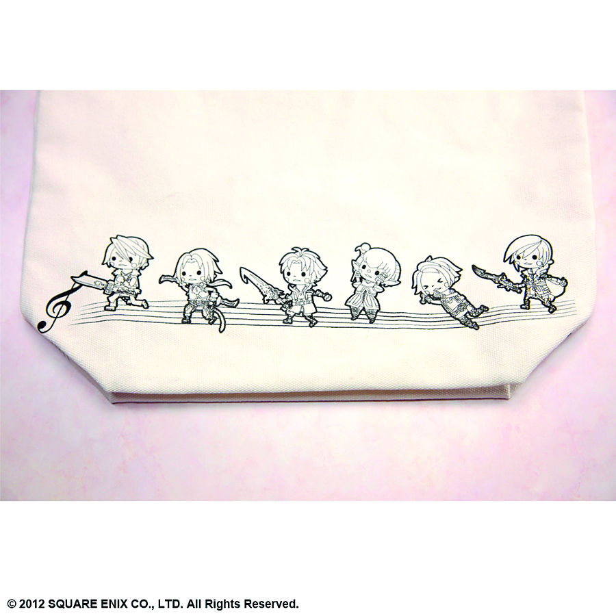 THEATRHYTHM FINAL FANTASY HEROES TOTE BAG