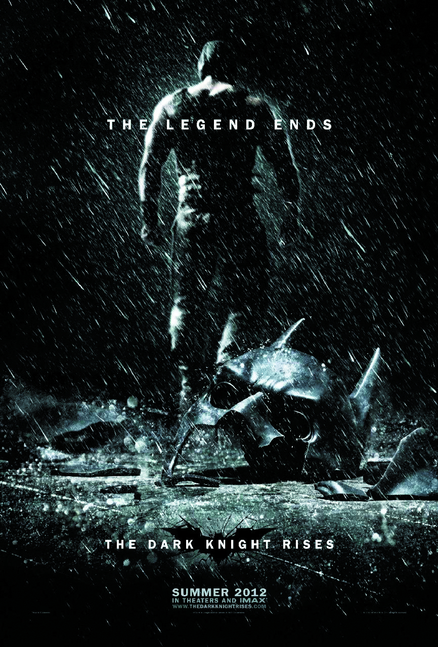 DARK KNIGHT RISES BD + DVD