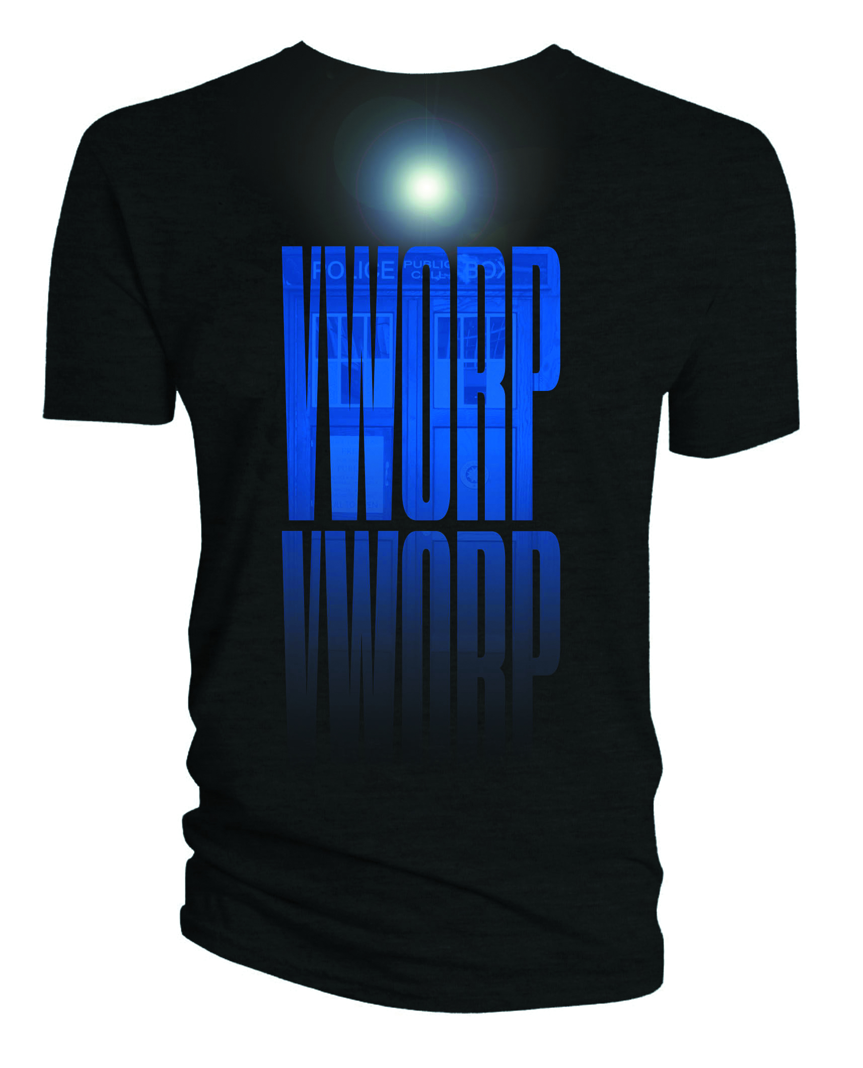 DOCTOR WHO VWORP VWORP TARDIS T/S LG