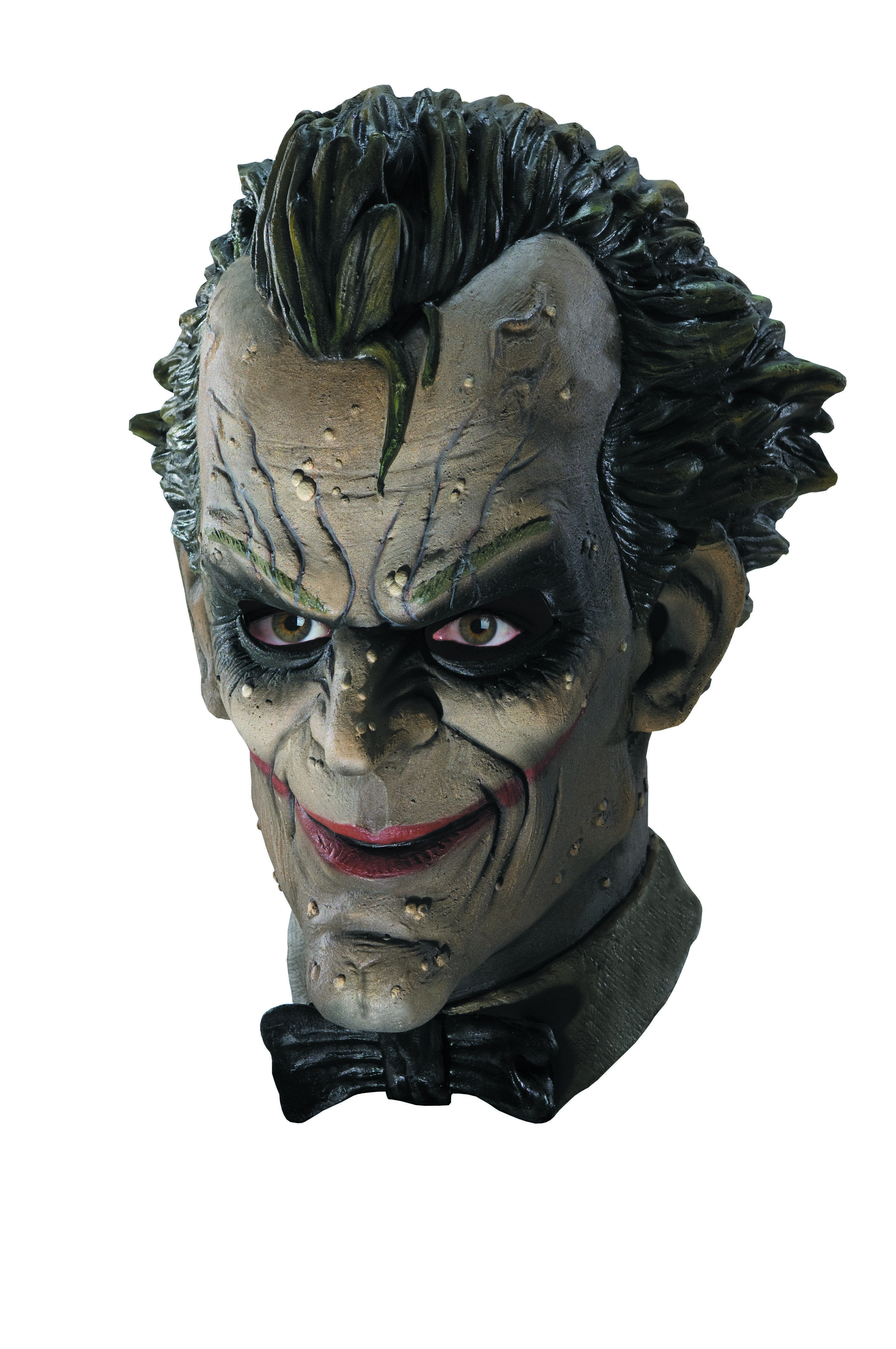 BATMAN ARKHAM CITY JOKER DELUXE VINYL MASK