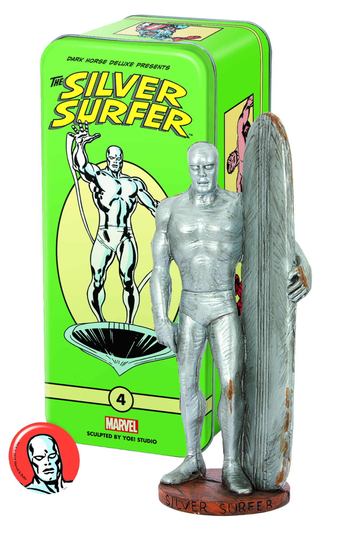 CLASSIC MARVEL CHARACTERS SERIES 2 #4 SILVER SURFER