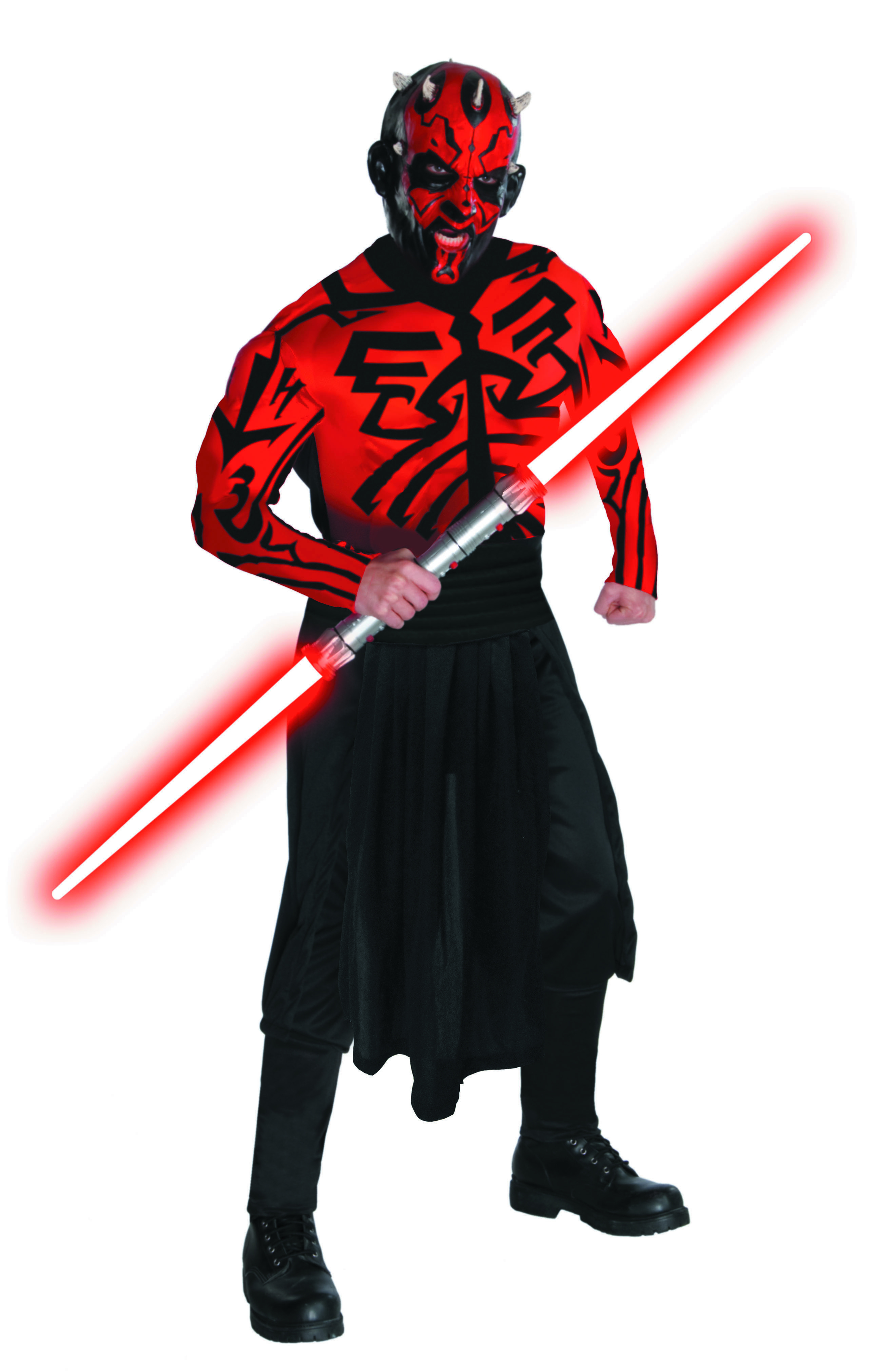 SW MUSCLE CHEST DARTH MAUL STANDARD DELUXE COSTUME