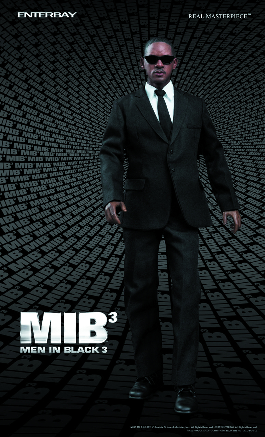 MIB 3 AGENT J REAL MASTERPIECE AF