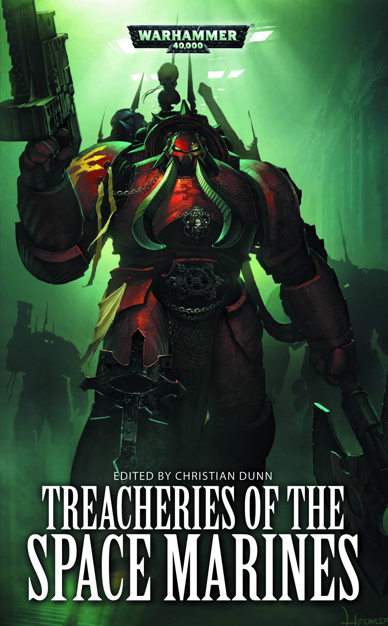 WARHAMMER 40K TREACHERIES OF THE SPACE MARINES MMPB