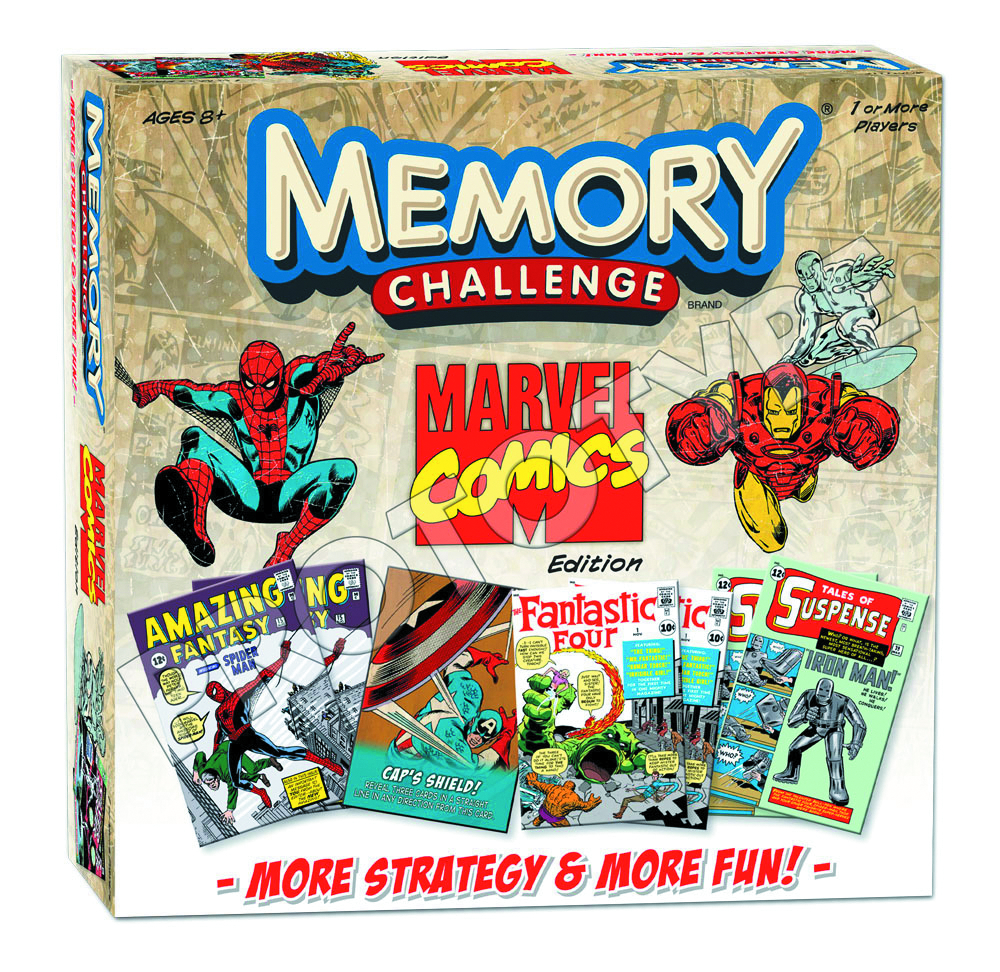 MARVEL COMICS MEMORY GAME