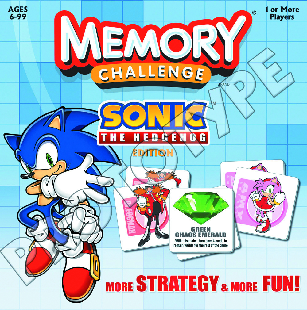 SONIC THE HEDGEHOG MEMORY GAME