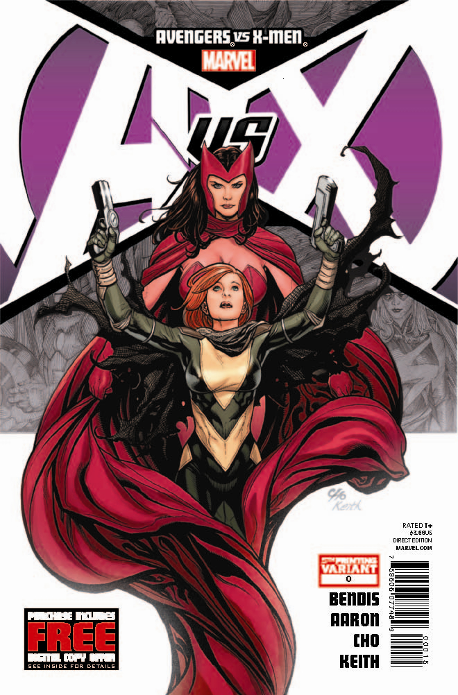 AVENGERS VS X-MEN #0 (OF 12) 5TH PTG CHO VAR AVX