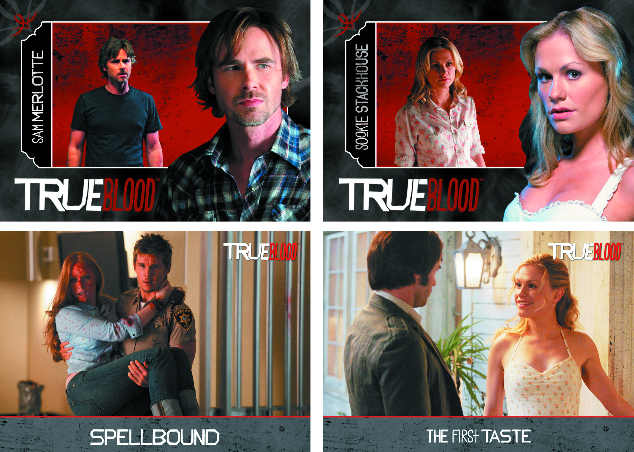 TRUE BLOOD PREMIERE EDITION T/C BINDER