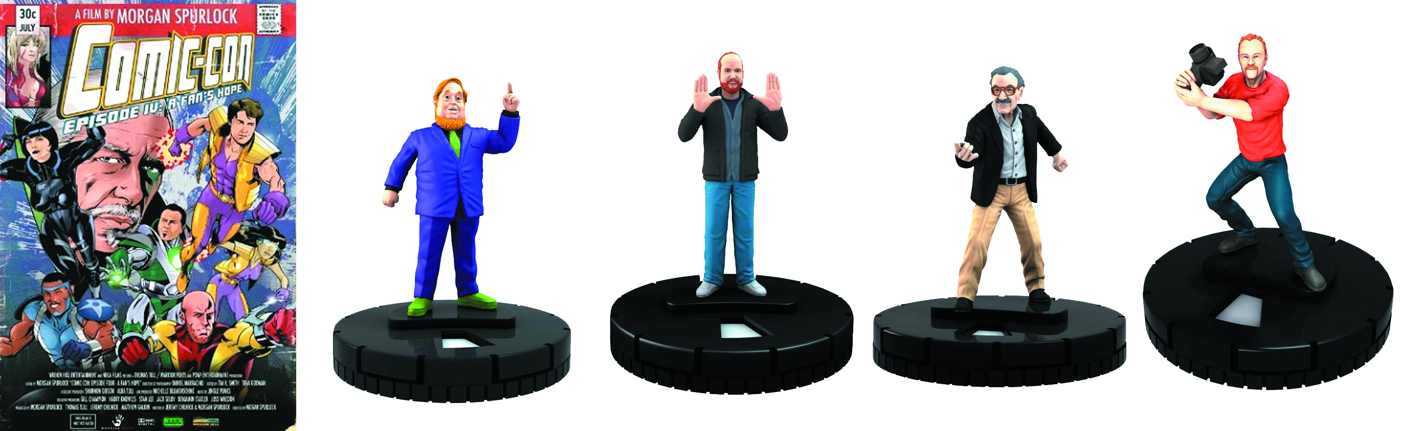 COMIC-CON MOVIE IV: FANS HOPE DVD HEROCLIX COMBO PACK