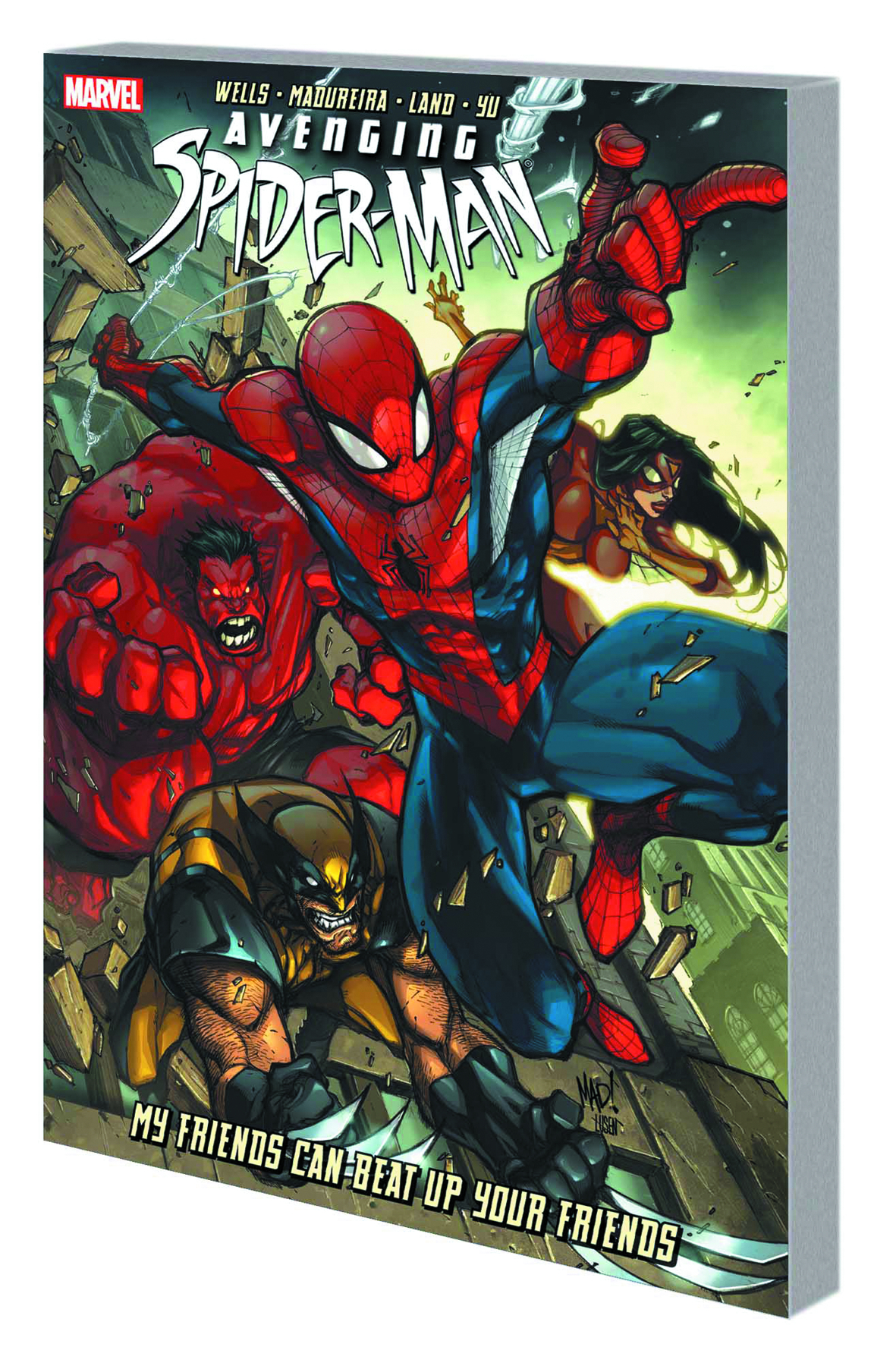 AVENGING SPIDER-MAN TP FRIENDS BEAT UP YOUR FRIENDS
