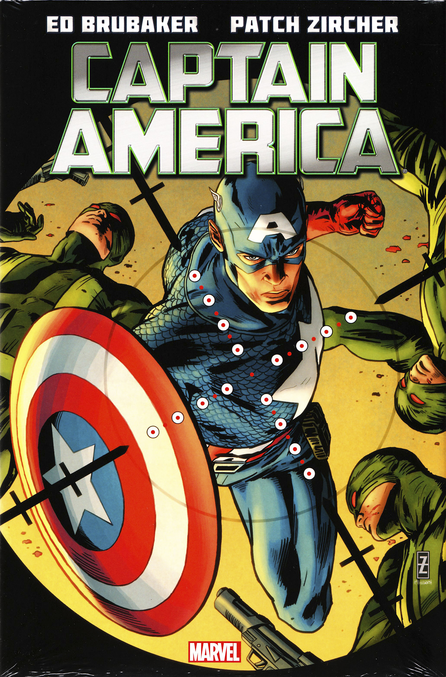 CAPTAIN AMERICA BY ED BRUBAKER PREM HC VOL 03