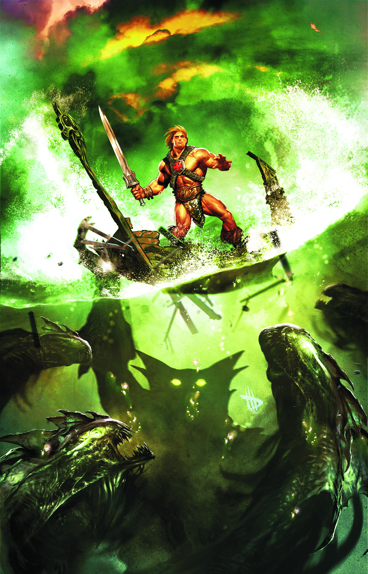 HE MAN AND THE MASTERS OF THE UNIVERSE #3