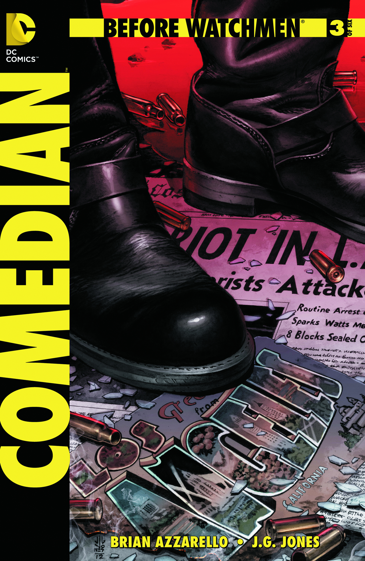 BEFORE WATCHMEN COMEDIAN #3 (OF 6) COMBO PACK (MR)