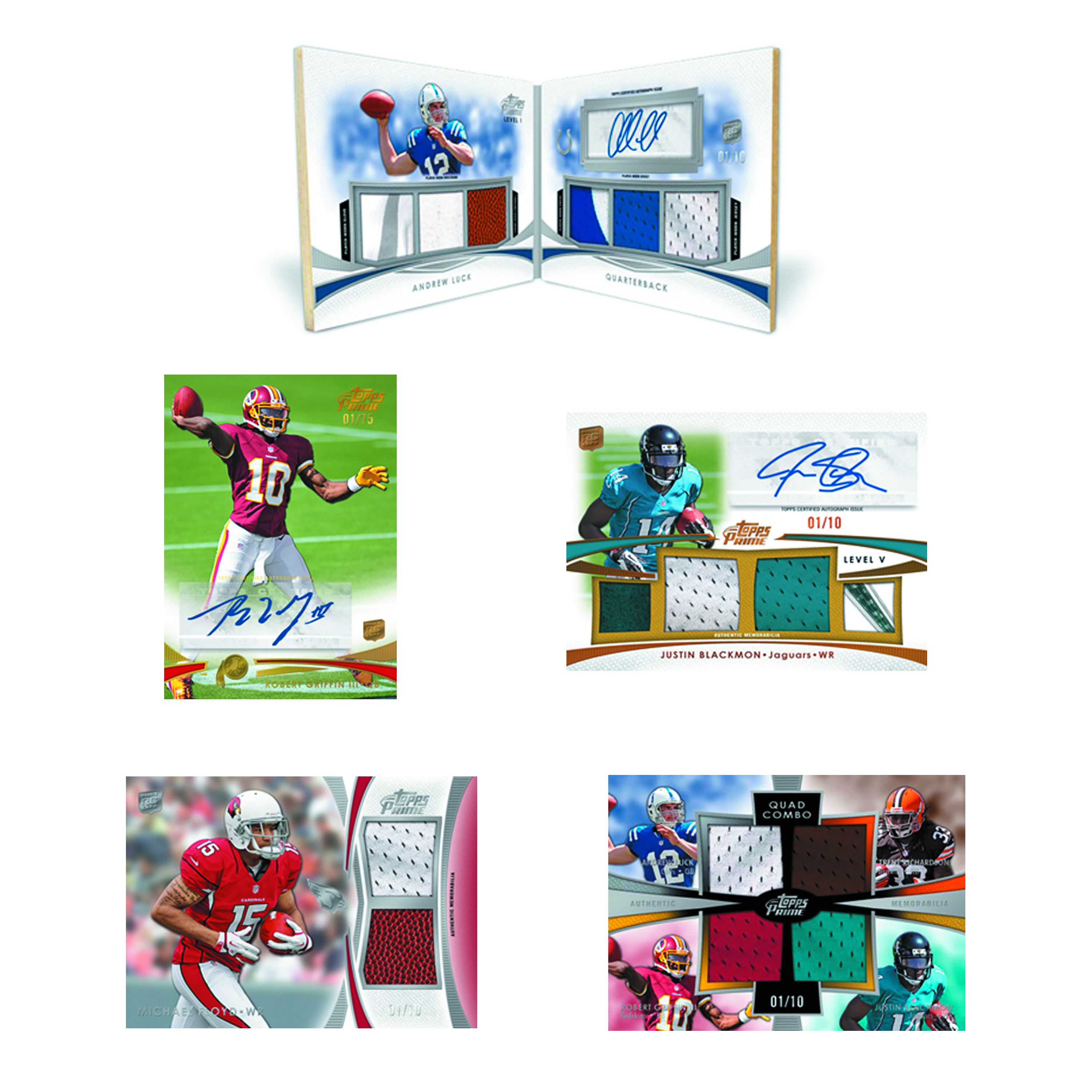 TOPPS 2012 PRIME FOOTBALL T/C BOX