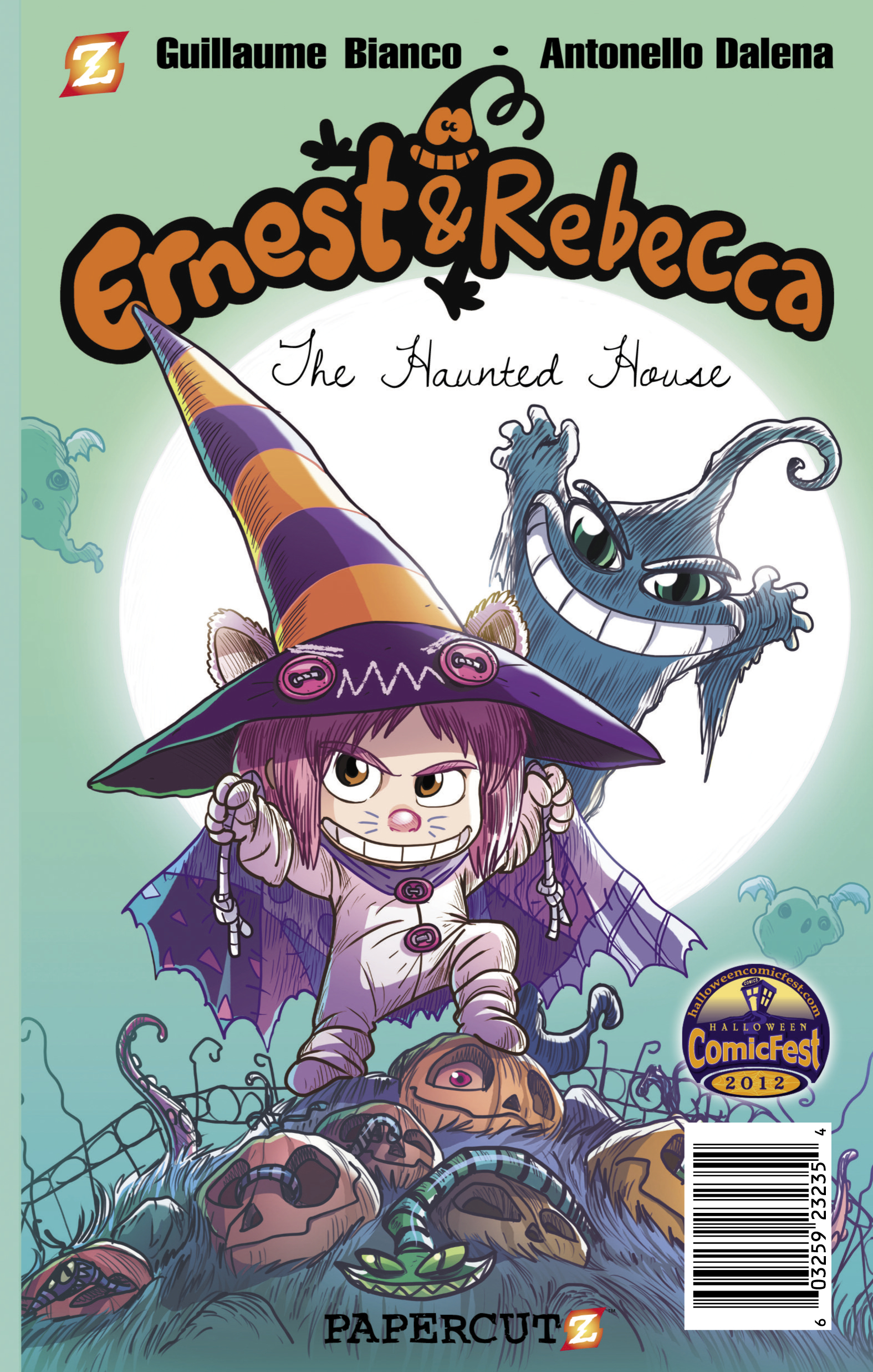 PAPERCUTZ ERNEST & REBECCA MINI COMIC BUNDLE 2012