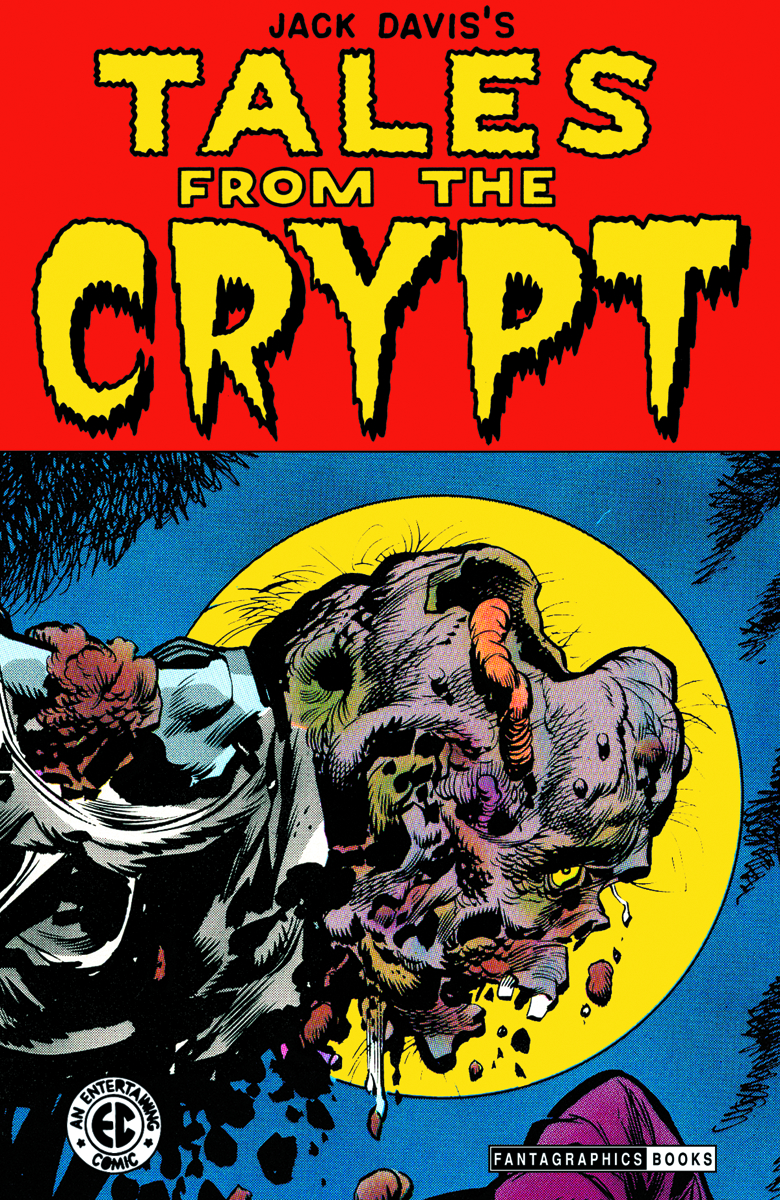 HCF 2012 FANTAGRAPHICS JACK DAVIS TALES FROM THE CRYPT