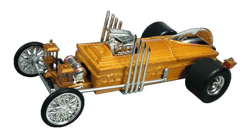 MUNSTERS GRANDPAS DRAG-U-LA 1/18 DIE-CAST VEHICLE