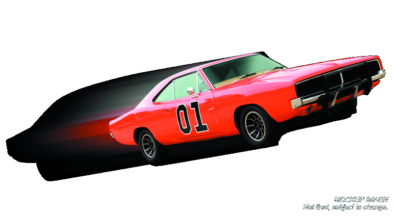 DUKES OF HAZZARD GENERAL LEE 1/18 DIE-CAST VEHICLE