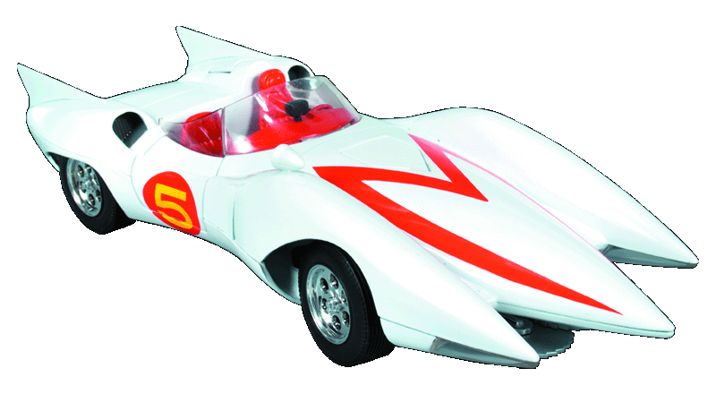 SPEED RACER MACH 5 1/18 DIE-CAST VEHICLE