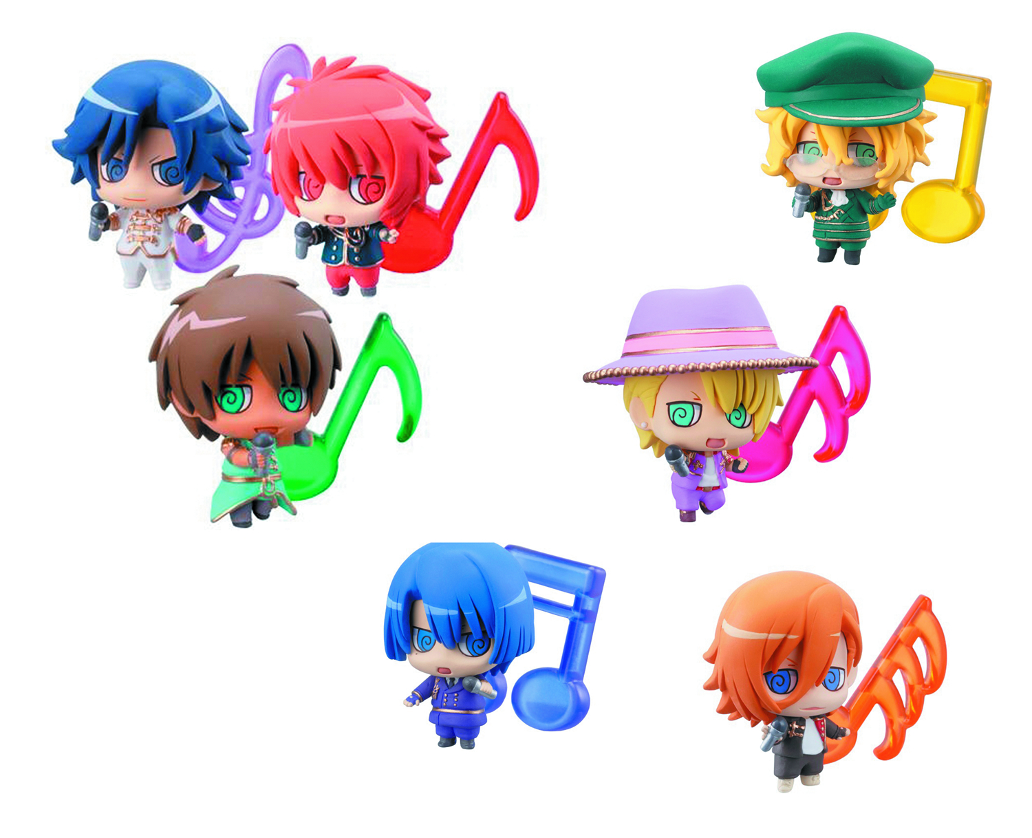 UTA NO PRINCE-SAMA PETIT CHARA LAND 10PC DS