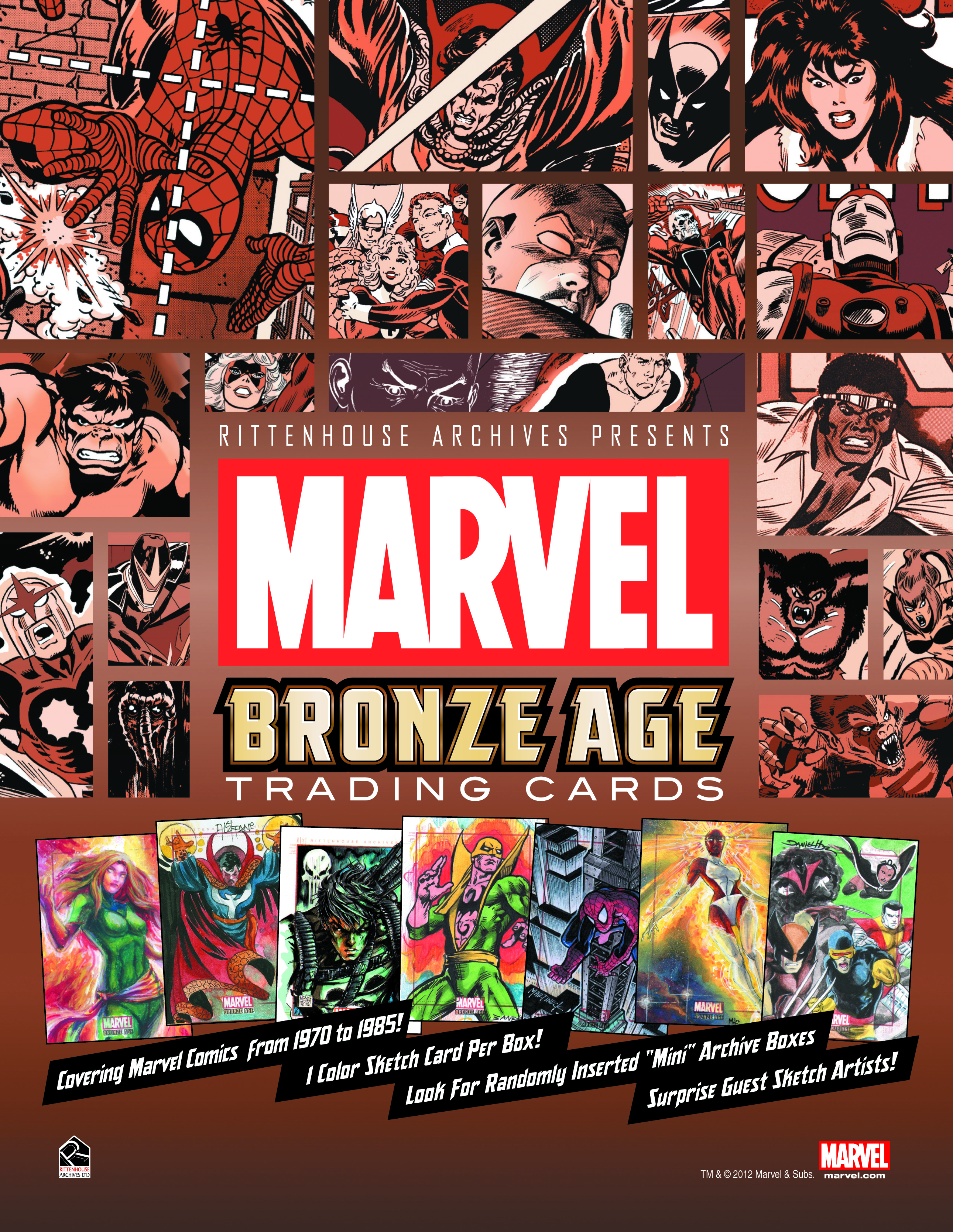MARVEL BRONZE AGE 1970-1985 T/C BOX