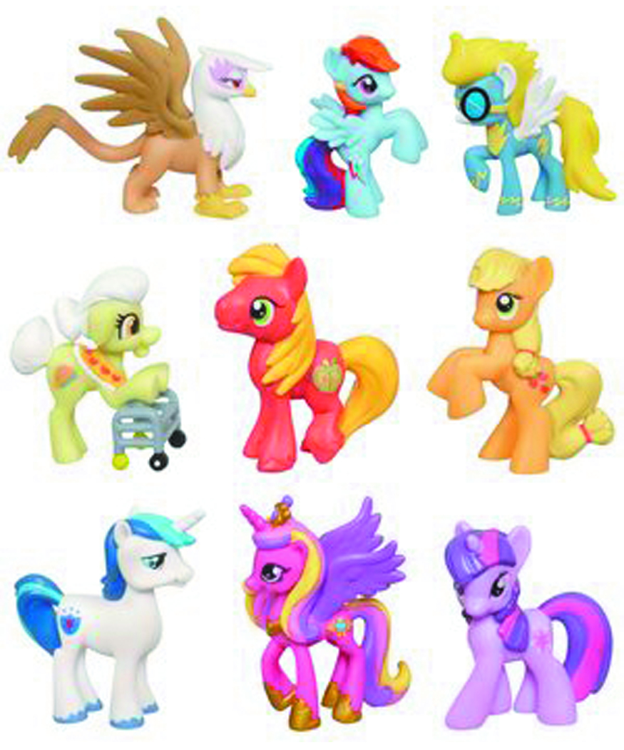 MY LITTLE PONY MINIS ASST 201201