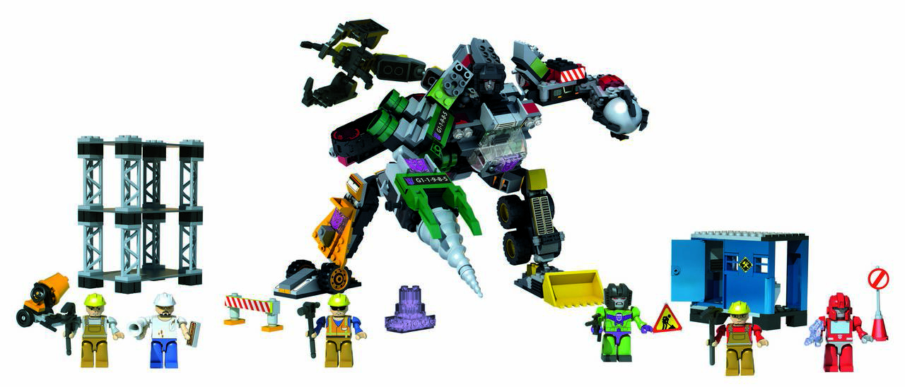 KREO TRANSFORMERS DEVASTATOR SET
