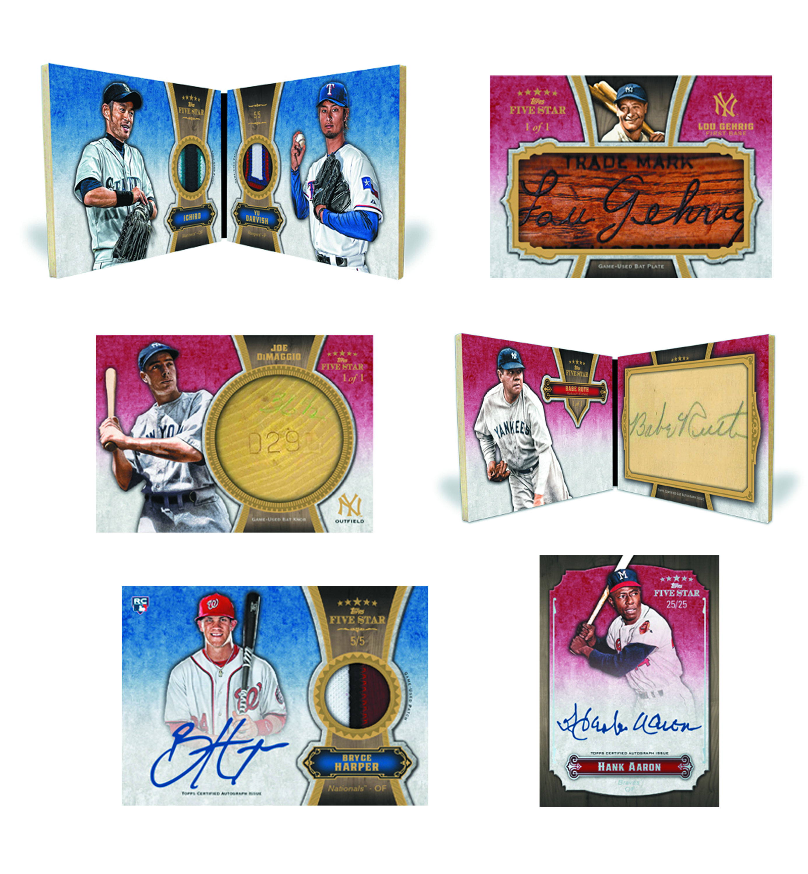 TOPPS 2012 FIVE STAR BASEBALL T/C BOX