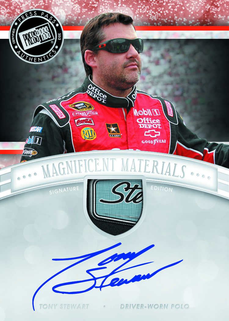 PRESS PASS 2012 FANFARE RACING T/C BOX