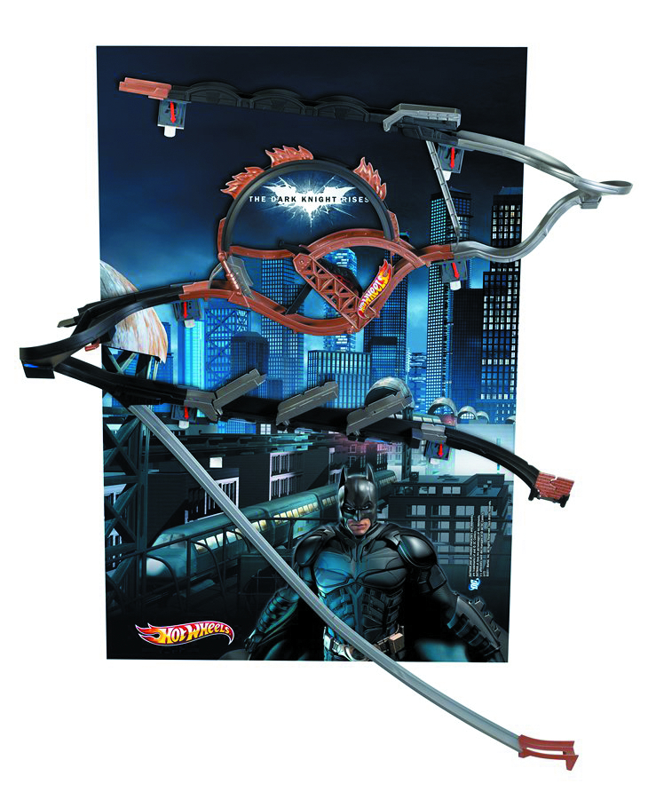 HOT WHEELS WALL TRACKS BATMAN SET