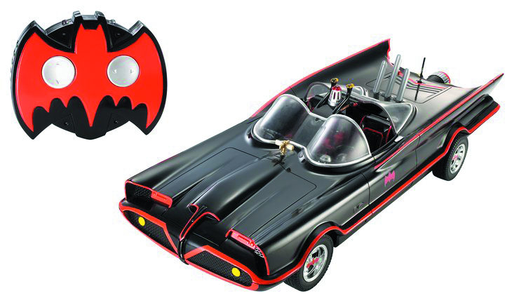HOT WHEELS 1966 TV BATMOBILE R/C CAR