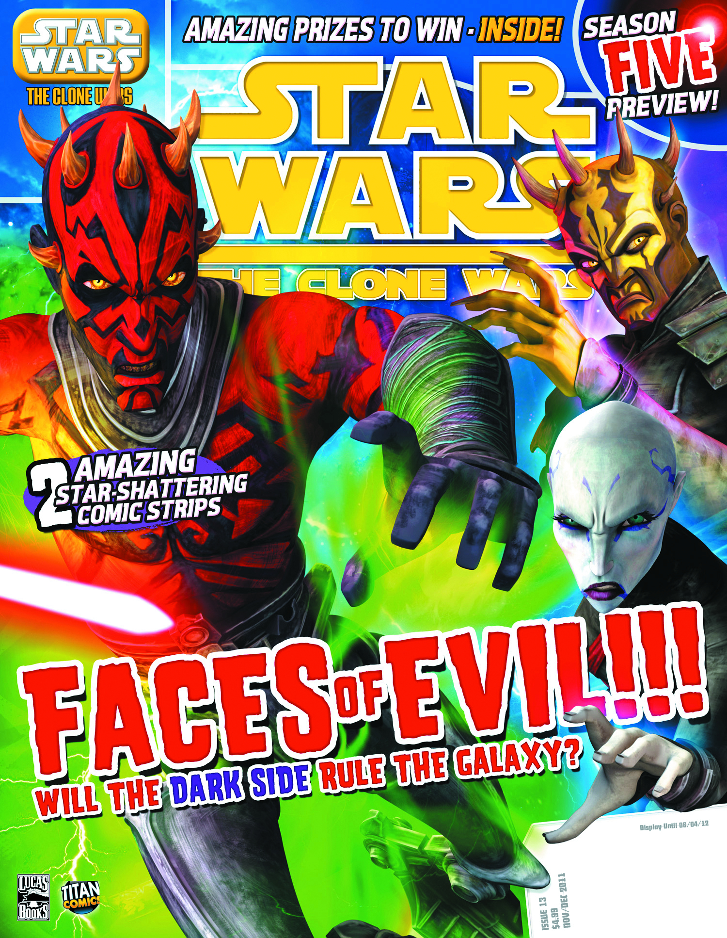 STAR WARS CLONE WARS MAGAZINE #13